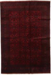 Afghan Khal Mohammadi Vloerkleed 198X289 Echt Oosters Handgeknoopt Donkerrood (Wol, Afghanistan)