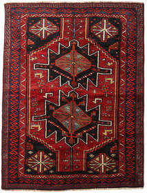 Lori Vloerkleed 168X224 Echt Oosters Handgeknoopt Donkerrood/Donkerbruin (Wol, Perzië/Iran)