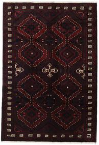 Lori Vloerkleed 173X255 Echt Oosters Handgeknoopt Donkerbruin/Donkerrood (Wol, Perzië/Iran)