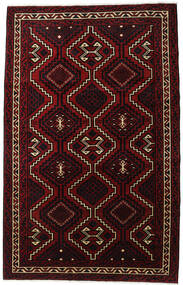 Lori Vloerkleed 179X281 Echt Oosters Handgeknoopt Donkerrood (Wol, Perzië/Iran)