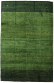 Gabbeh Perzisch Vloerkleed 198X307 Echt Modern Handgeknoopt Donkergroen/Groen (Wol, Perzië/Iran)