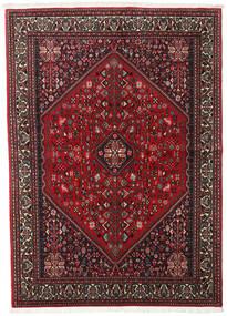 Abadeh Vloerkleed 149X208 Echt Oosters Handgeknoopt Donkerrood/Donkerbruin (Wol, Perzië/Iran)
