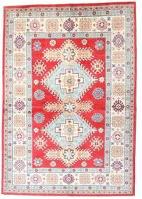 Kazak Vloerkleed 149X213 Echt Oosters Handgeknoopt Beige/Lichtgrijs (Wol, Afghanistan)