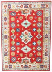 Kazak Vloerkleed 168X236 Echt Oosters Handgeknoopt Beige/Rood (Wol, Pakistan)