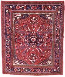 Zanjan Vloerkleed 155X221 Echt Oosters Handgeknoopt Donkerrood (Wol, Perzië/Iran)