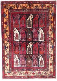 Zanjan Vloerkleed 145X210 Echt Oosters Handgeknoopt Donkerrood/Donkerbruin (Wol, Perzië/Iran)