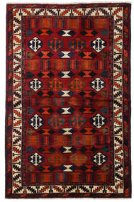 Lori Vloerkleed 145X224 Echt Oosters Handgeknoopt Donkerbruin/Donkerrood (Wol, Perzië/Iran)