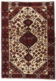 Lori Vloerkleed 145X209 Echt Oosters Handgeknoopt Donkerrood/Beige (Wol, Perzië/Iran)