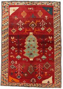 Ghashghai Vloerkleed 145X207 Echt Oosters Handgeknoopt Roestkleur/Rood (Wol, Perzië/Iran)