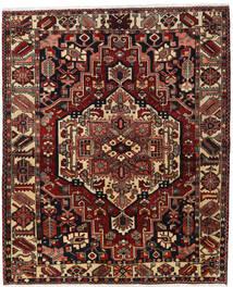 Bakhtiar Vloerkleed 170X207 Echt Oosters Handgeknoopt Donkerrood/Donkerbruin (Wol, Perzië/Iran)
