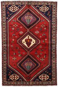 Ghashghai Vloerkleed 155X236 Echt Oosters Handgeknoopt Donkerrood/Roestkleur (Wol, Perzië/Iran)