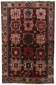 Shiraz Vloerkleed 153X236 Echt Oosters Handgeknoopt Donkerbruin/Donkerrood (Wol, Perzië/Iran)