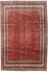 Sarough Mir Vloerkleed 209X314 Echt Oosters Handgeknoopt Donkerrood/Donkerbruin (Wol, Perzië/Iran)