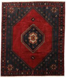 Klardasht Vloerkleed 255X302 Echt Oosters Handgeknoopt Zwart/Donkerrood Groot (Wol, Perzië/Iran)