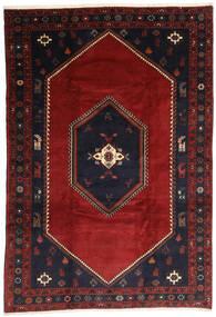 Klardasht Vloerkleed 203X300 Echt Oosters Handgeknoopt Donkerrood/Zwart (Wol, Perzië/Iran)