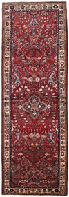 Mehraban Vloerkleed 108X316 Echt Oosters Handgeknoopt Tapijtloper Donkerrood/Bruin (Wol, Perzië/Iran)