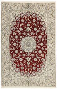 Nain 6La Vloerkleed 156X241 Echt Oosters Handgeweven Lichtgrijs/Beige (Wol/Zijde, Perzië/Iran)