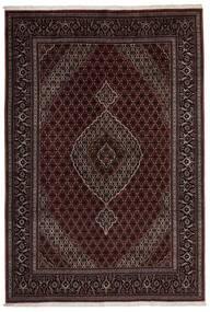 Tabriz 40 Raj Vloerkleed 200X295 Echt Oosters Handgeweven Donkerrood/Donkerbruin (Wol/Zijde, Perzië/Iran)