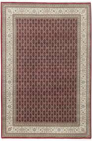 Tabriz Royal Vloerkleed 200X300 Echt Oosters Handgeknoopt Lichtgrijs/Donkerrood ( India)