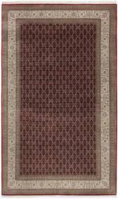 Tabriz Royal Vloerkleed 187X305 Echt Oosters Handgeknoopt Donkerrood/Bruin/Lichtgrijs ( India)