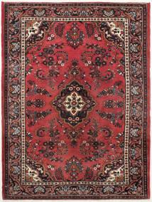 Mehraban Vloerkleed 210X285 Echt Oosters Handgeknoopt Donkerbruin/Donkerrood (Wol, Perzië/Iran)