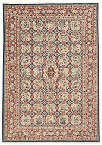 Varamin Vloerkleed 203X285 Echt Oosters Handgeknoopt (Wol/Zijde, Perzië/Iran)