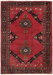 Shahrekord Vloerkleed 207X290 Echt Oosters Handgeknoopt Donkerrood/Rood/Donkerbruin (Wol, Perzië/Iran)
