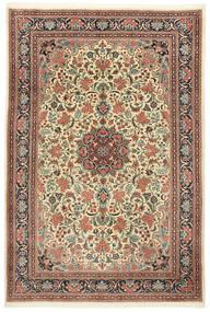 Sarough Vloerkleed 210X295 Echt Oosters Handgeknoopt Beige/Lichtbruin (Wol, Perzië/Iran)