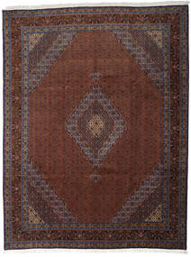 Ardebil Vloerkleed 295X385 Echt Oosters Handgeknoopt Donkerrood/Zwart Groot (Wol, Perzië/Iran)