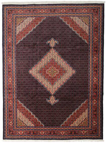 Ardebil Vloerkleed 277X376 Echt Oosters Handgeknoopt Donkerrood/Donkerbruin Groot (Wol, Perzië/Iran)