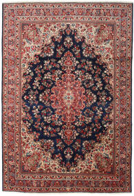 Moud Vloerkleed 248X360 Echt Oosters Handgeknoopt Donkerrood/Zwart (Wol/Zijde, Perzië/Iran)