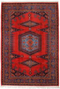 Wiss Vloerkleed 256X368 Echt Oosters Handgeknoopt Roestkleur/Donkerrood Groot (Wol, Perzië/Iran)