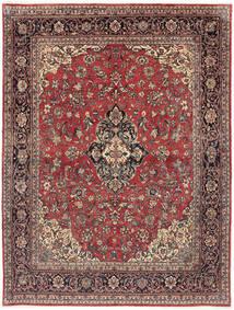 Arak Vloerkleed 232X302 Echt Oosters Handgeknoopt Donkerrood/Donkerbruin (Wol, Perzië/Iran)