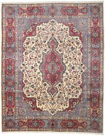 Kashmar Vloerkleed 300X382 Echt Oosters Handgeknoopt Donkerbruin/Lichtgrijs Groot (Wol, Perzië/Iran)