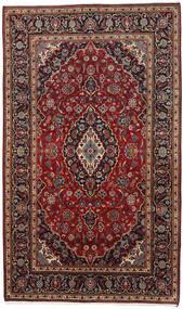 Keshan Vloerkleed 178X294 Echt Oosters Handgeknoopt Donkerrood/Donkerbruin (Wol, Perzië/Iran)