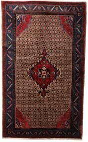 Koliai Vloerkleed 130X218 Echt Oosters Handgeknoopt Donkerrood/Donkerbruin (Wol, Perzië/Iran)