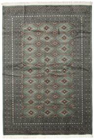 Pakistan Bokhara 2Ply Vloerkleed 206X293 Echt Oosters Handgeknoopt Donkergrijs/Zwart (Wol, Pakistan)