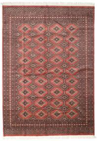 Pakistan Bokhara 2Ply Vloerkleed 205X287 Echt Oosters Handgeknoopt Donkerrood/Roestkleur (Wol, Pakistan)