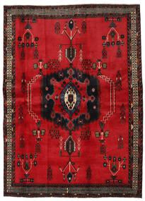 Afshar Vloerkleed 169X236 Echt Oosters Handgeknoopt Rood/Donkerbruin (Wol, Perzië/Iran)