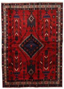 Afshar Vloerkleed 177X246 Echt Oosters Handgeknoopt Donkerrood/Roestkleur (Wol, Perzië/Iran)