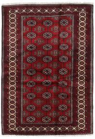 Beluch Vloerkleed 127X184 Echt Oosters Handgeknoopt Donkerrood/Donkerbruin (Wol, Perzië/Iran)