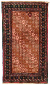 Beluch Vloerkleed 100X172 Echt Oosters Handgeknoopt Rood/Zwart (Wol, Perzië/Iran)