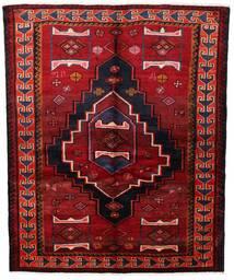 Lori Vloerkleed 155X190 Echt Oosters Handgeknoopt Donkerrood/Roestkleur (Wol, Perzië/Iran)
