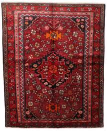 Lori Vloerkleed 160X198 Echt Oosters Handgeknoopt Donkerrood (Wol, Perzië/Iran)