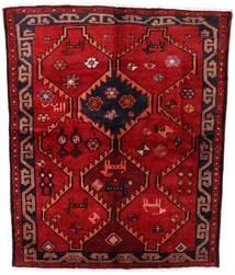 Lori Vloerkleed 158X195 Echt Oosters Handgeknoopt Donkerrood/Roestkleur (Wol, Perzië/Iran)