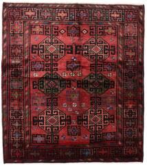 Lori Vloerkleed 171X192 Echt Oosters Handgeknoopt Donkerrood (Wol, Perzië/Iran)