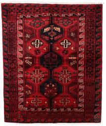 Lori Vloerkleed 161X196 Echt Oosters Handgeknoopt Donkerrood/Donkerbruin (Wol, Perzië/Iran)