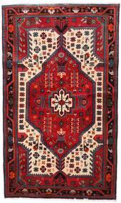 Nahavand Vloerkleed 112X188 Echt Oosters Handgeknoopt Donkerrood/Donkerbruin (Wol, Perzië/Iran)