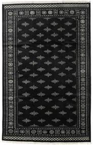 Pakistan Bokhara 2Ply Vloerkleed 199X312 Echt Oosters Handgeknoopt Zwart/Donkergrijs (Wol, Pakistan)