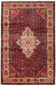 Mehraban Vloerkleed 217X332 Echt Oosters Handgeknoopt Donkerrood/Donkerbruin (Wol, Perzië/Iran)
